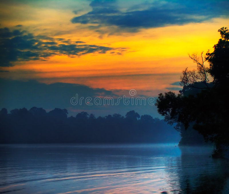 Dawn Breaking royalty free stock photo