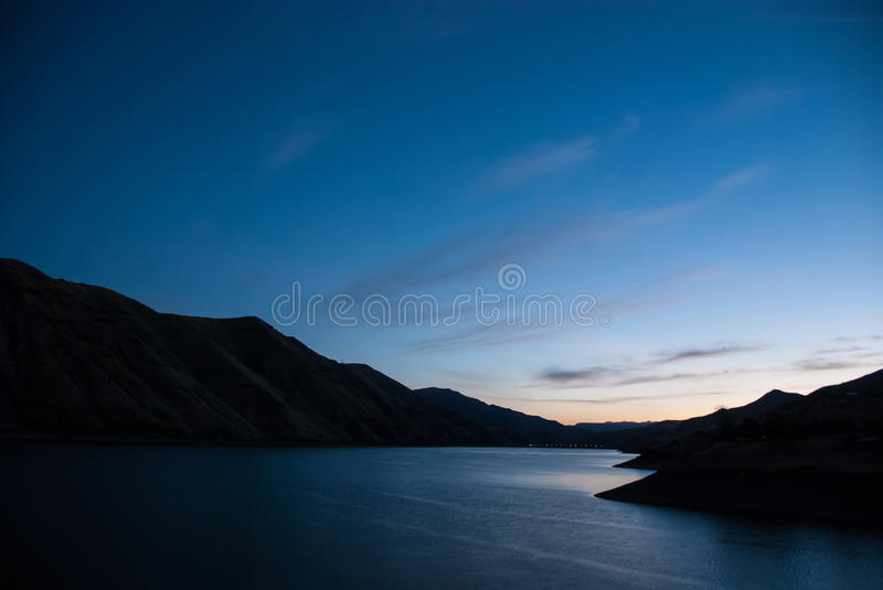 Dawn Breaking in the Heart of Hells Canyon royalty free stock photo