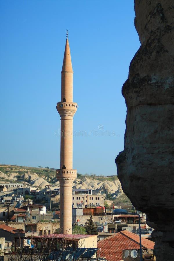 The dawn in Cappadocia stock photos