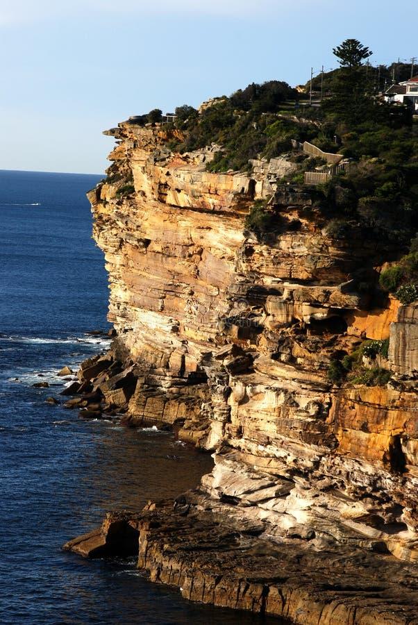 Dawn Cliffs royalty free stock photos