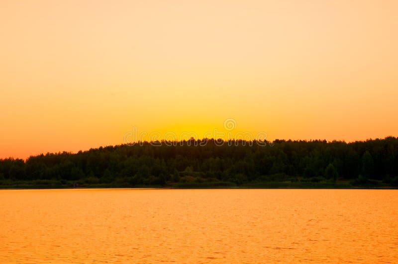 Dawn, dawning, daybreak, daylight, aurora, break of day. Dawn wheat field stock photography