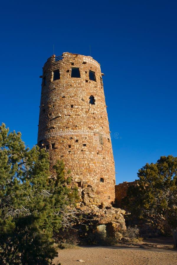 Dawn Desert Watchtower photos libres de droits