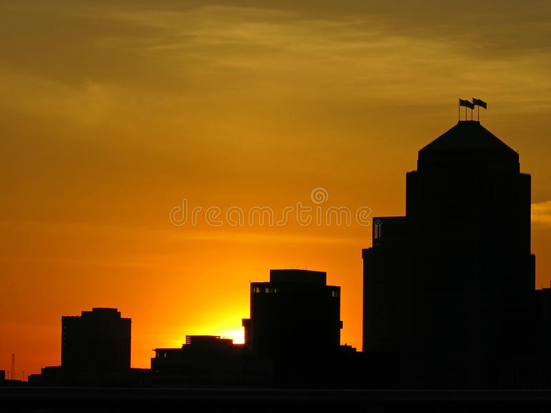 Dawn of the great nation royalty free stock photography