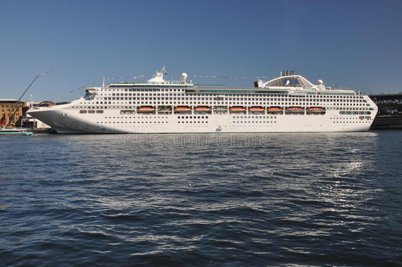 Dawn Princess Cruise Ship photos libres de droits