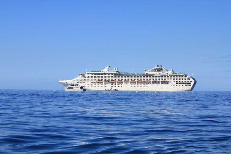 Dawn Princess Cruise Ship imágenes de archivo libres de regalías