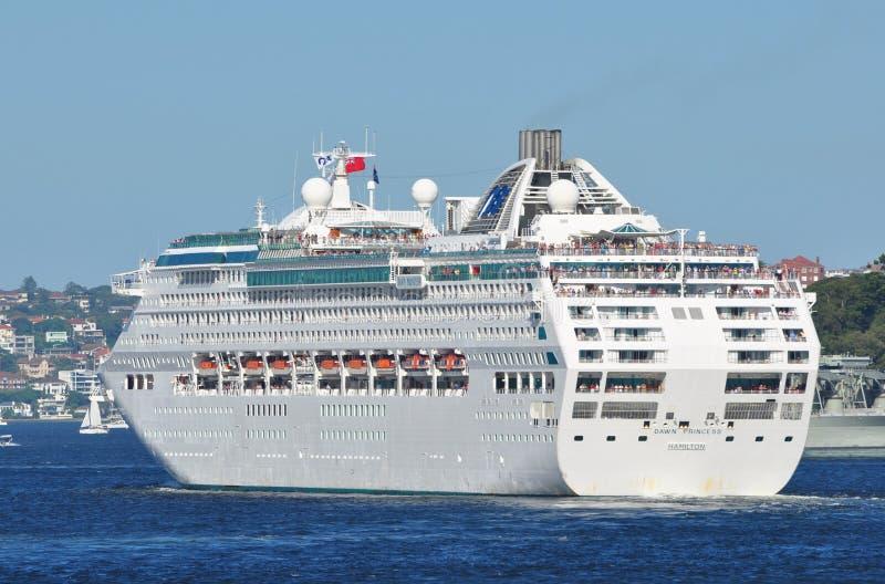 Dawn Princess Cruise Ship stock images