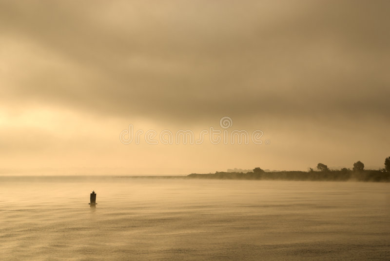 Download Dawn at the river. stock photo. Image of tranquil, space - 6029558