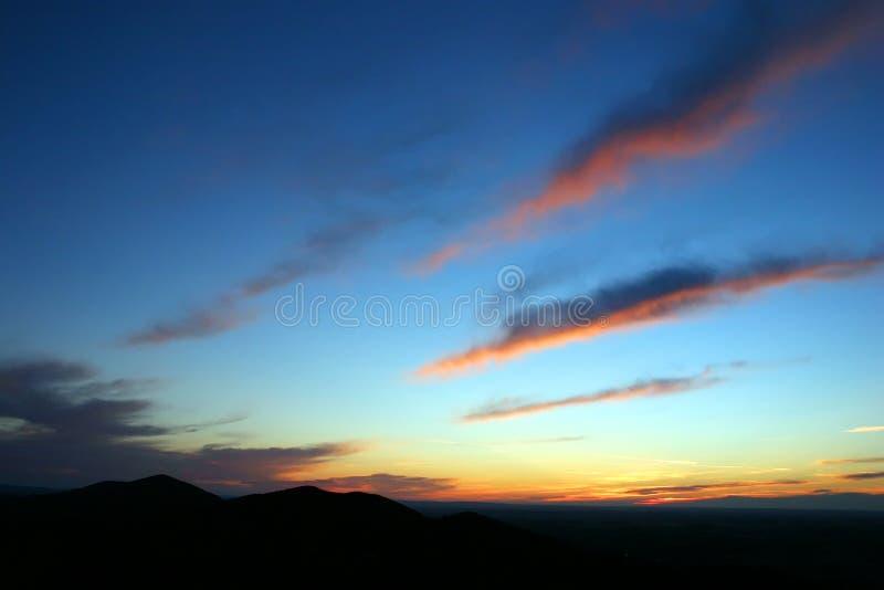 Dawn sky royalty free stock photo