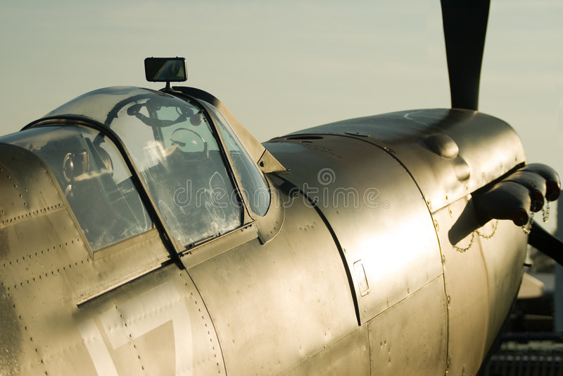 Dawn Spitfire royalty free stock photo