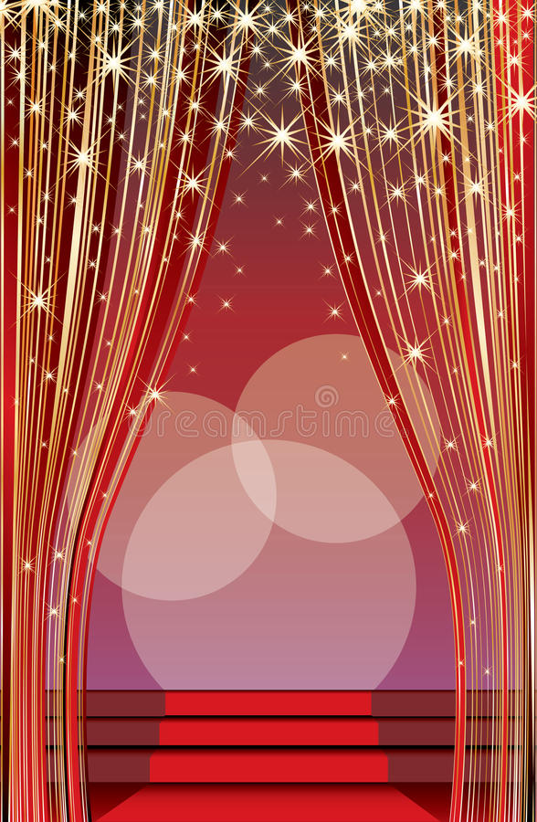 Download Dawn stage stock vector. Illustration of announcement - 17261648