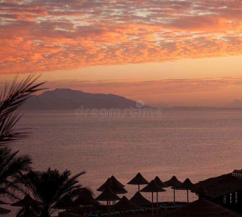 Dawn vóór zonsopgang royalty-vrije stock fotografie