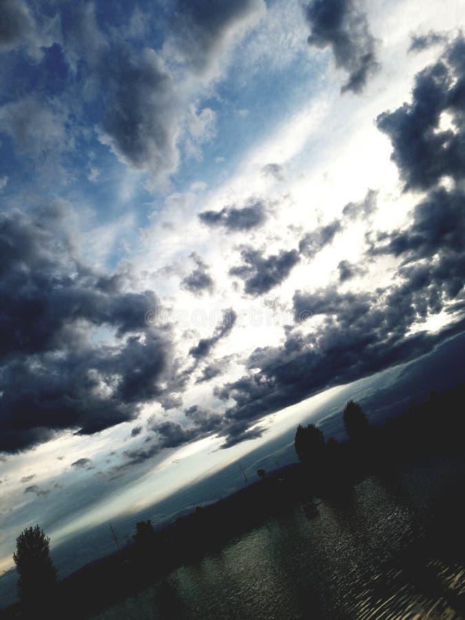 Dawn in Wellinton, Colorado royalty free stock photography