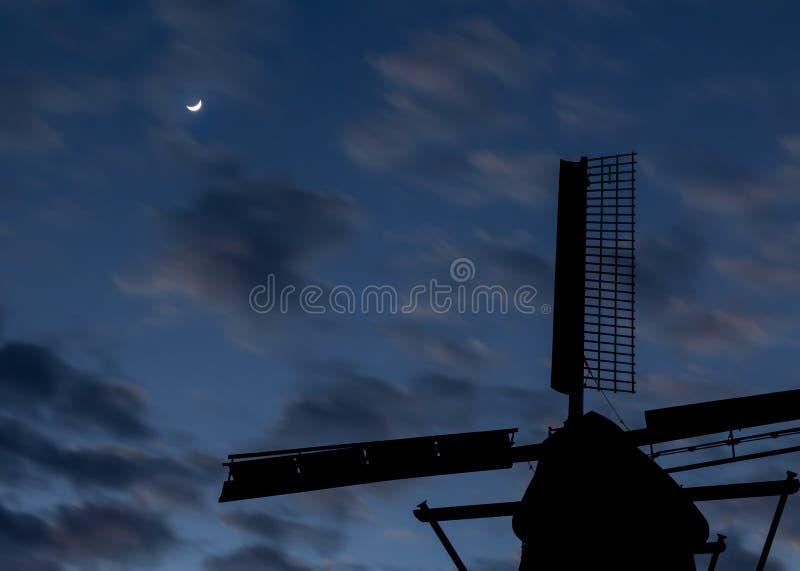 Dawn Windmill fotografía de archivo libre de regalías