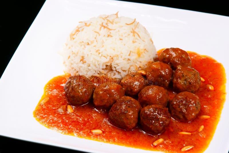 dawoud食物黎巴嫩人巴夏 免版税库存照片