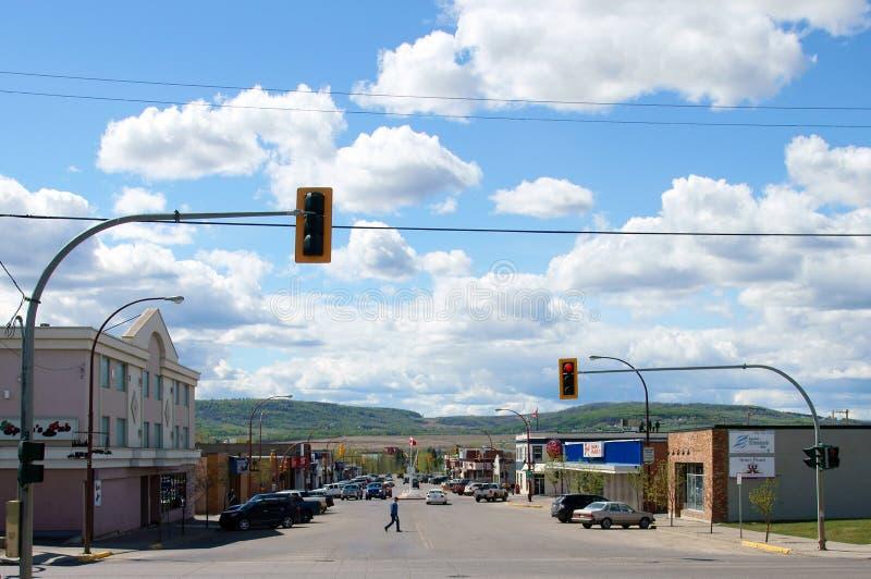 Dawson Creek British Columbia Canada imagens de stock