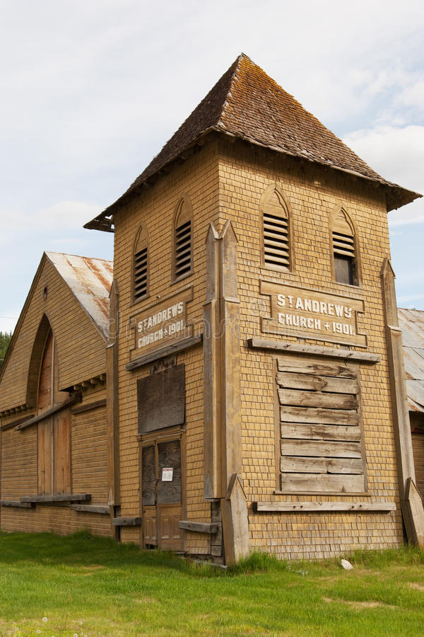 Dawson landmark stock photography