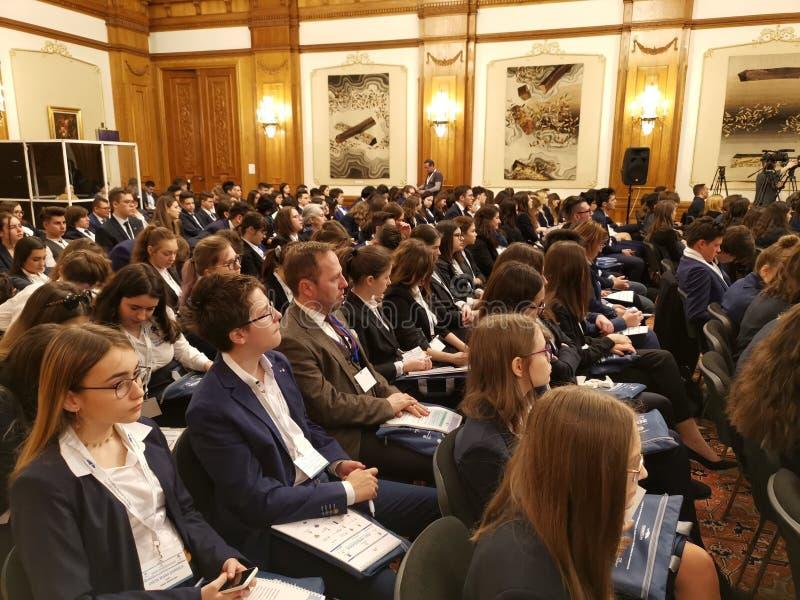 2DAY AMBASSADEUR - 8ste Internationale Laude-Reut Conference royalty-vrije stock afbeelding
