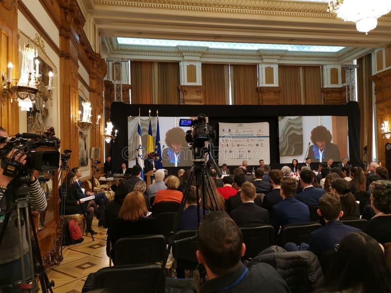 2DAY AMBASSADEUR - 8ste Internationale Laude-Reut Conference stock afbeeldingen
