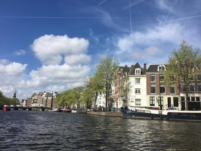 Day in Amsterdam stock images