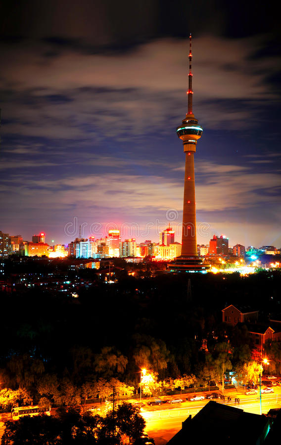 Free Day And Night, Beijing Stock Photography - 25682542
