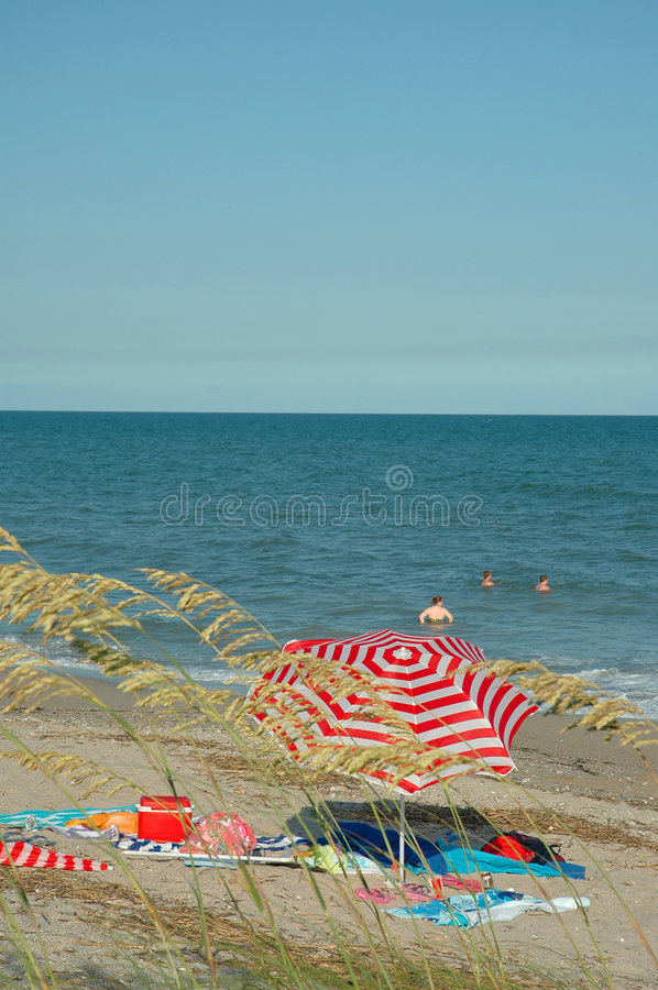Day at the Beach royalty free stock image