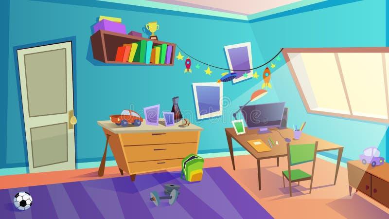 Boys Bedroom Stock Illustrations 269 Boys Bedroom Stock