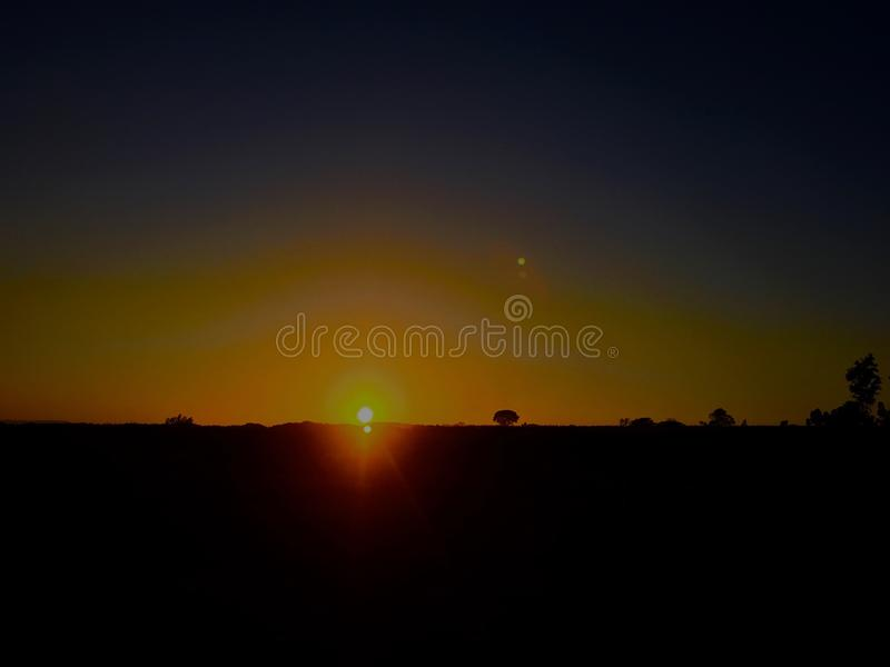 Day Break royalty free stock photo