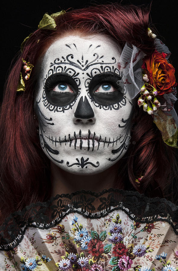 Download Day of the dead stock image. Image of model, girl, horror - 23072849