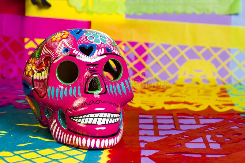 Day of the dead celebration stock photo