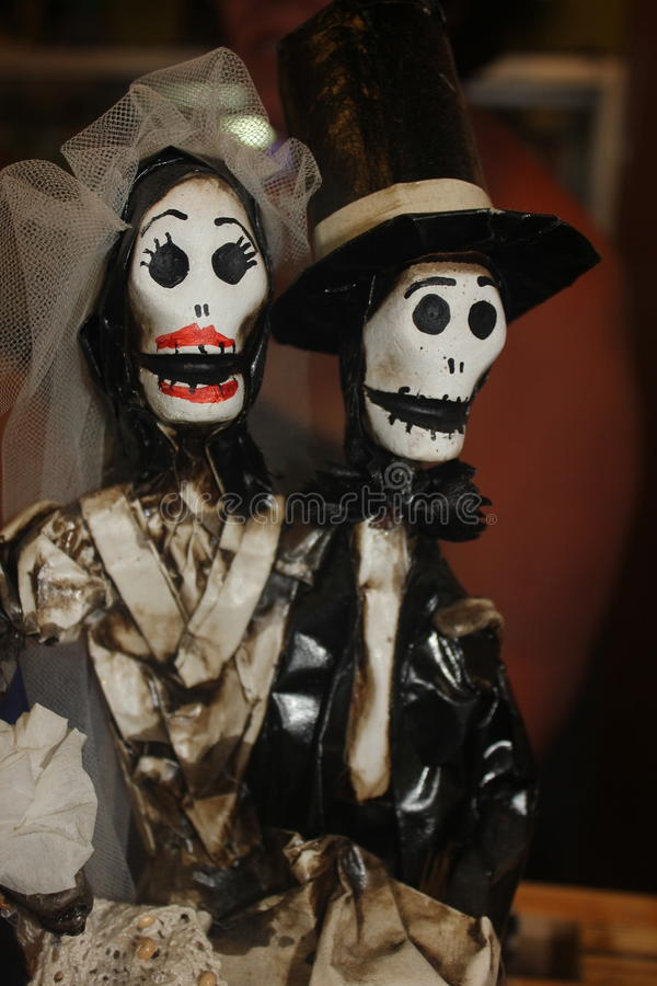 Download Day Of The Dead Couple Stock Image Bride