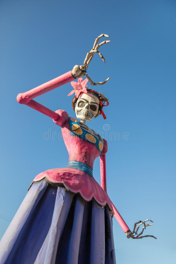 Day of the Dead decorations. stock photos