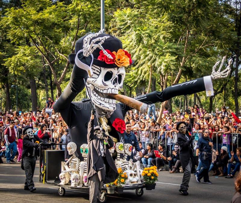 muertos dia mexico los parade dead costume editorial october makeup