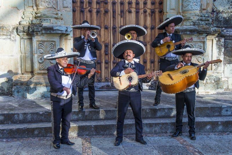 Day of the Dead. OAXACA , MEXICO - NOV 02 : Mariachis perform during the carnival of the Day of the Dead in Oaxaca, Mexico, on November 02 2015. The Day of the royalty free stock photography