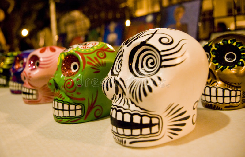 Download Day Of The Dead Skeletons Stock Photo - Image: 7022840