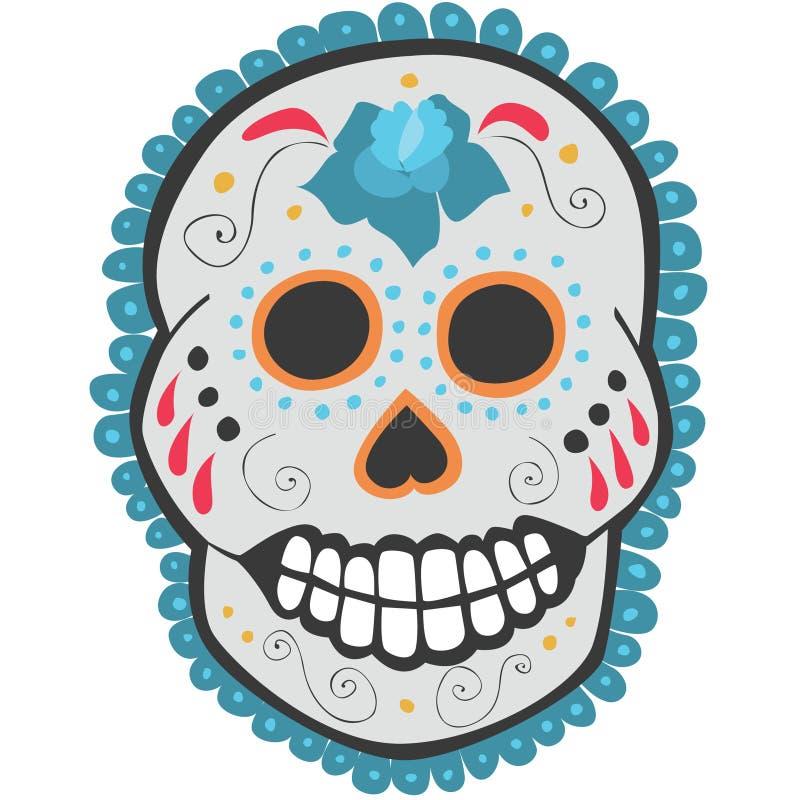 Download Day Of The Dead Sugar Skull Stock Illustration - Image: 18370611
