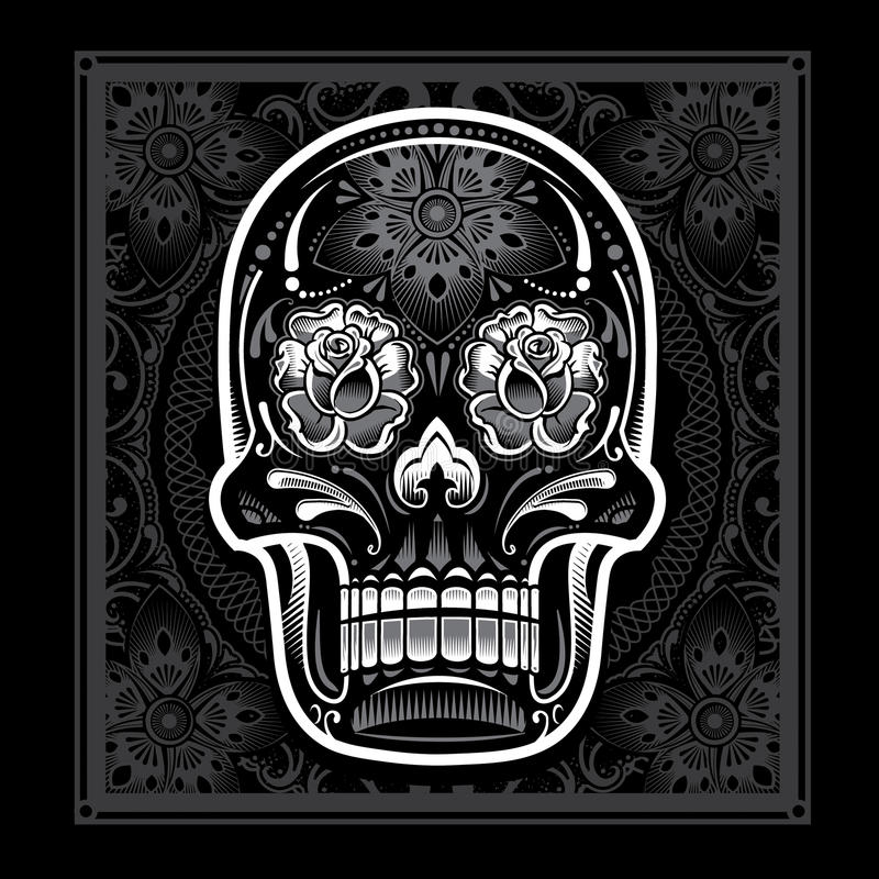 Download Day Of The Dead Candy Skull Stock Vector - Illustration of floral, holiday: 29926485