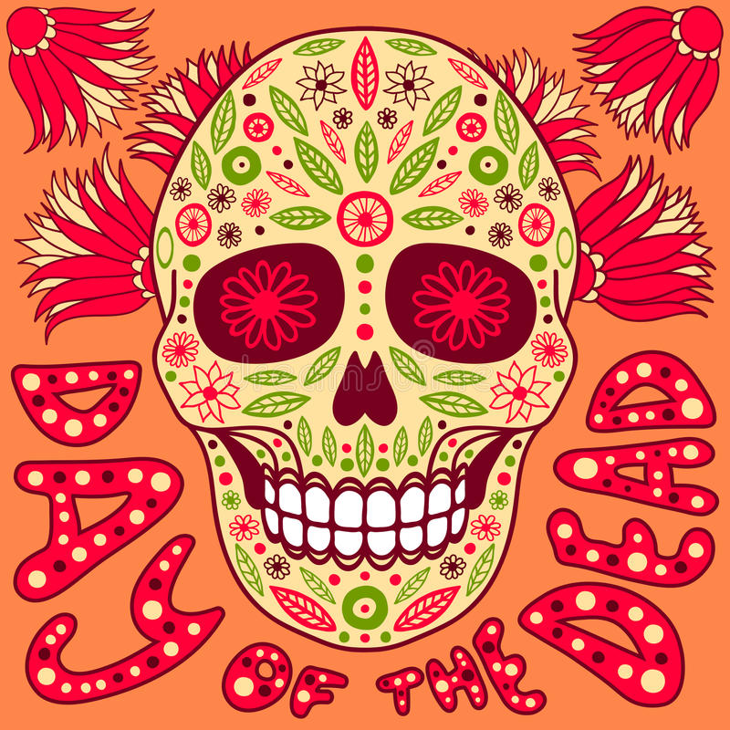 Day of the Dead royalty free illustration