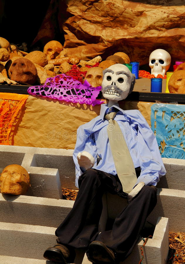 Download Day of the dead VI stock image. Image of skull, tradition - 21891285