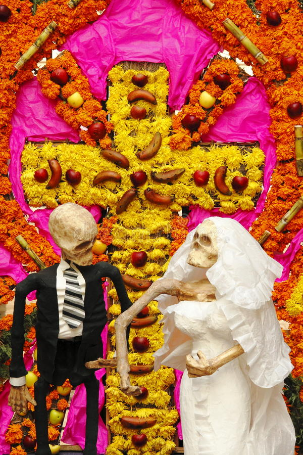 Day of the dead VIII stock photography