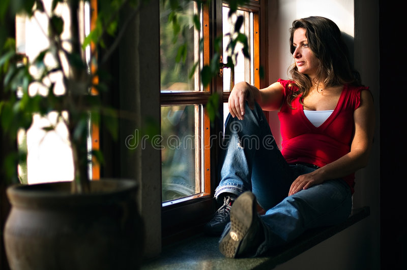 Day Dreaming royalty free stock images