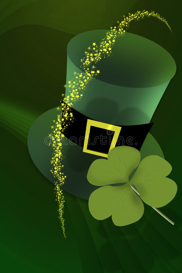day irish patrick s st stock illustrationer