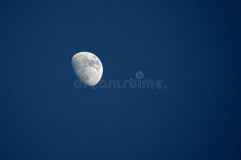 Download By day moon stock image. Image of planet, dream, night, evening - 15911