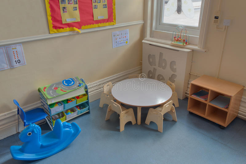 Day Nursery Class. An Empty Day Nursery Class royalty free stock photography