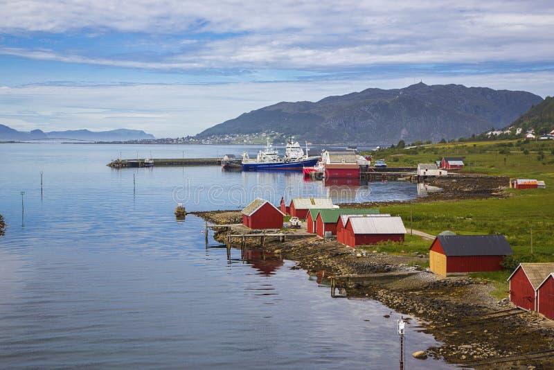 Runde Island, Norway stock photo