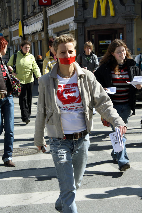 Download Day Of Silence In Saint Petersburg Editorial Photo - Image: 10198276