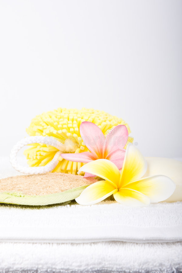 Free Day Spa Pamper Items Royalty Free Stock Photo - 7683255