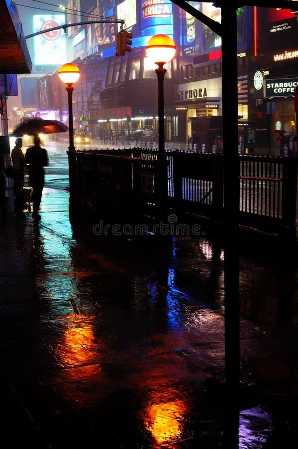 day square time wet στοκ εικόνες με δικαίωμα ελεύθερης χρήσης