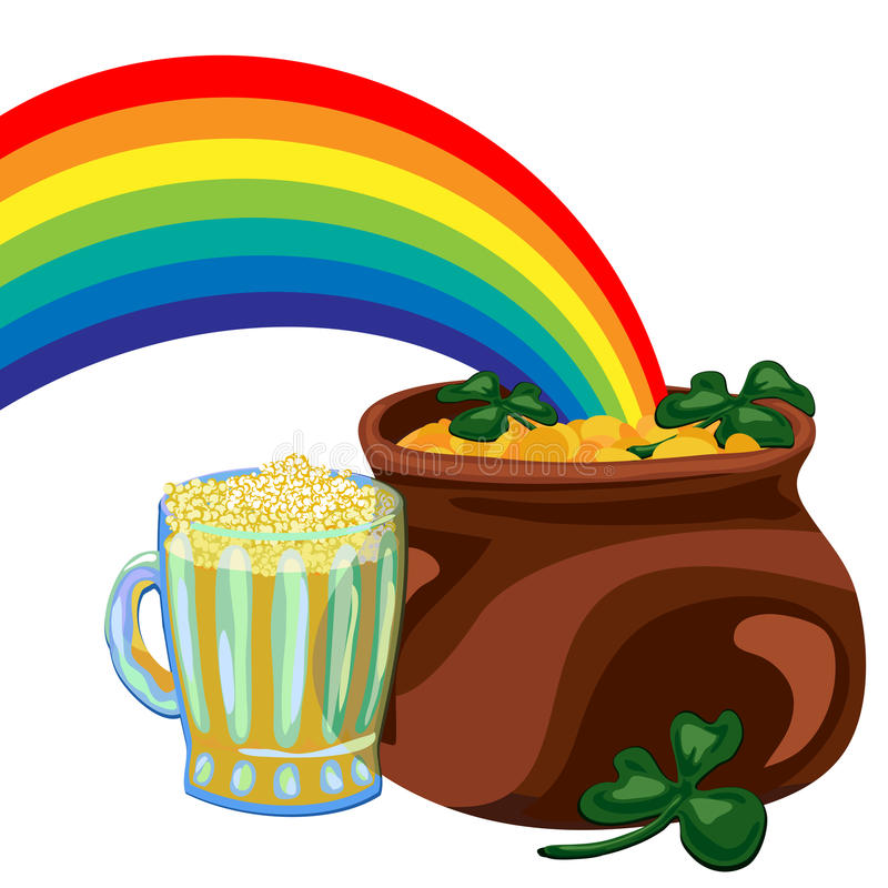 Day St Patrick royalty free illustration