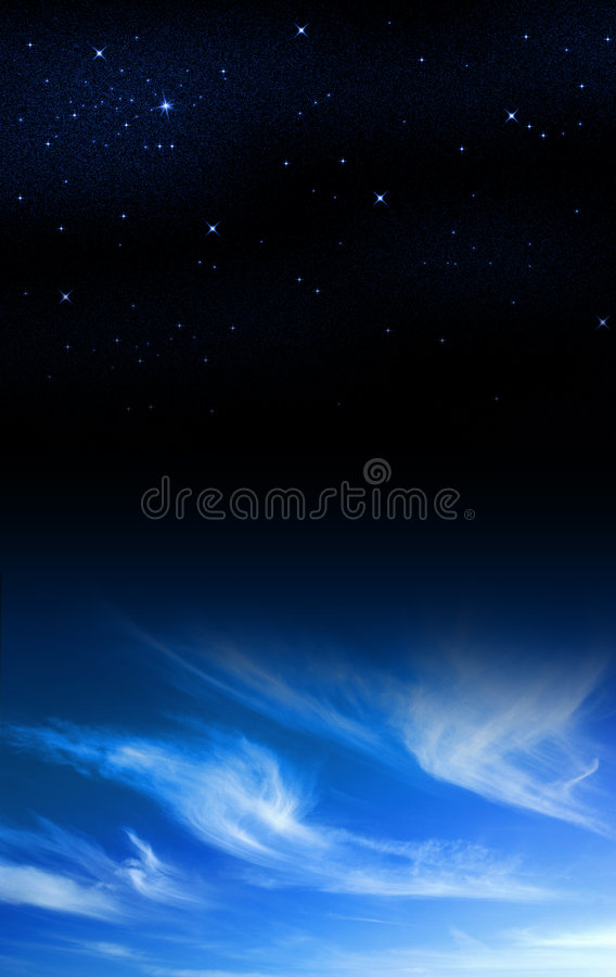 Day to Night royalty free stock photo