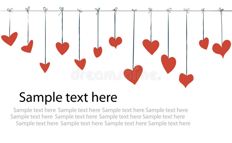 Download Day valentine background stock illustration. Image of cartoon - 12348436